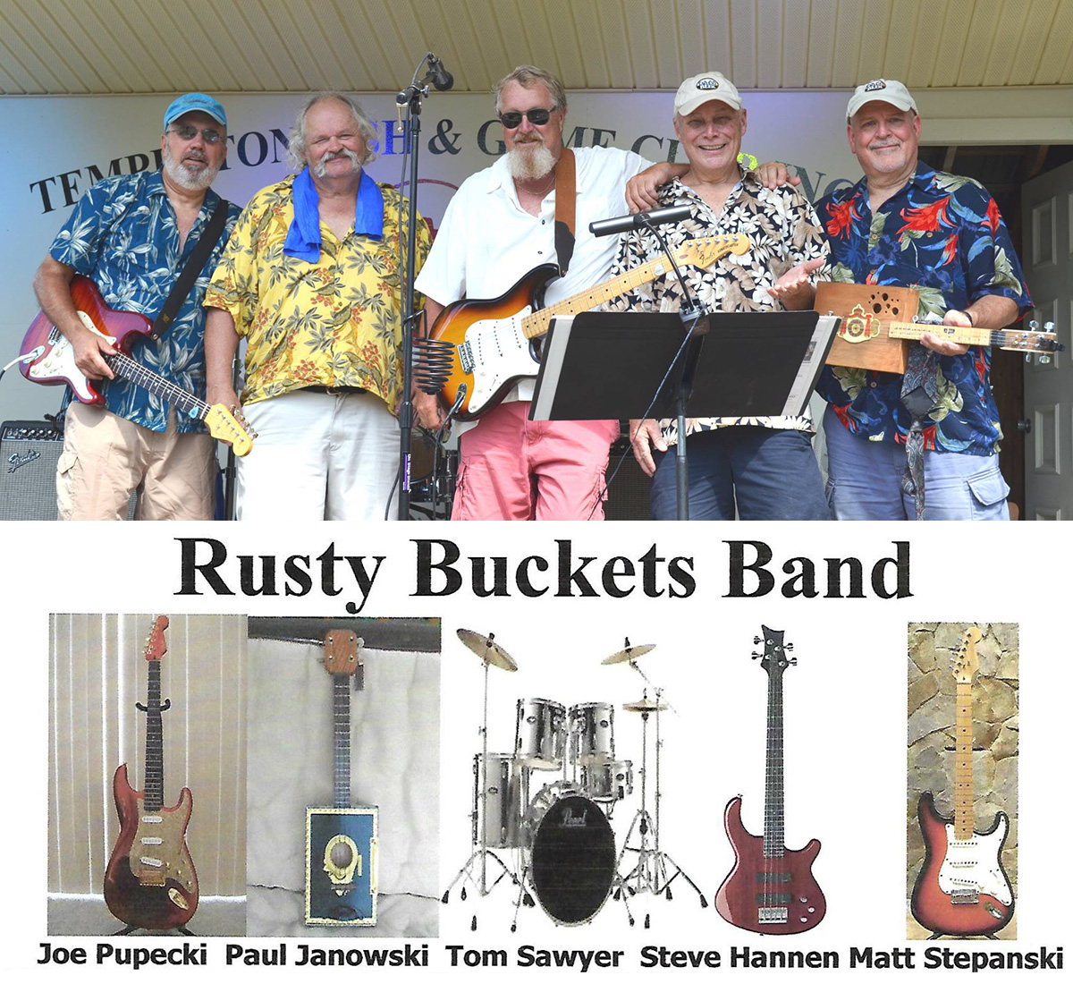 Rusty Buckets Band photo
