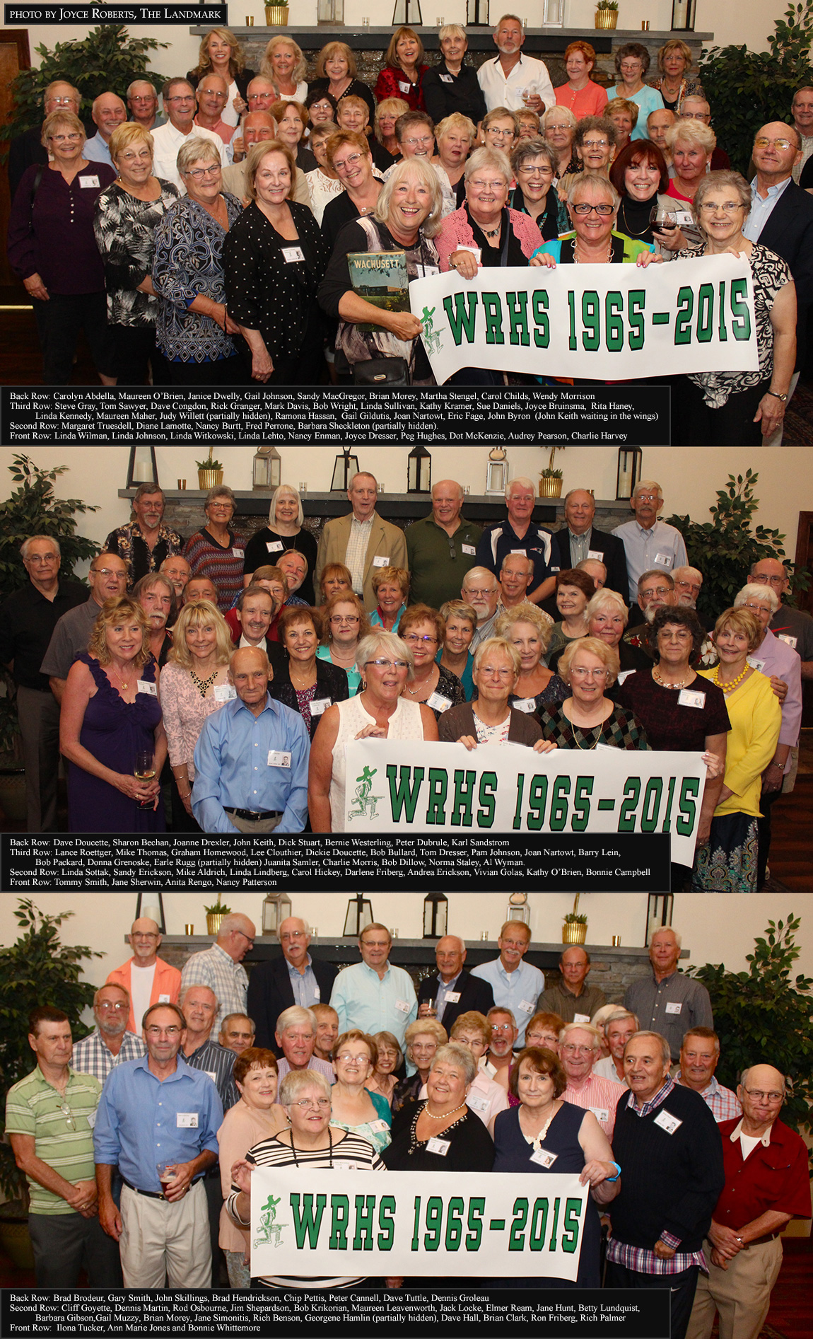 WRHS Class of 1965 - 50th Reunion photo by The Landmark